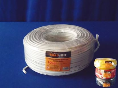 Foto de Cable electricScan 100m 8awg-127v scan 0.3mm Blanco