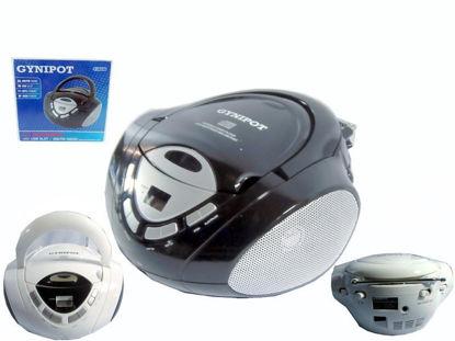 Foto de Radiograbadora am/fm USB MP3 CD Gynipot Ref. GY-721