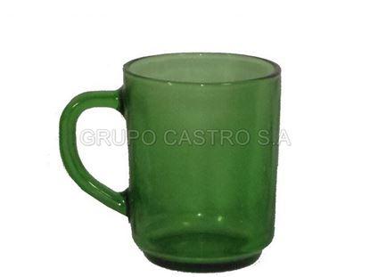 Foto de Taza vidrio verde coffe CM0801B/CM0801G 8 OZ