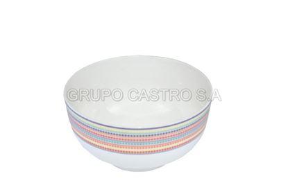 "Foto de Tazon porcelana 4.5""11.4cms decorada CDMC53-001 CASA BELLA"
