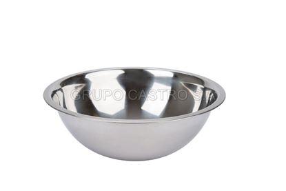 Foto de Tazon Bowl 555 24cms Acero CL-006-24CM/ U bowl-24cms 123 gramos