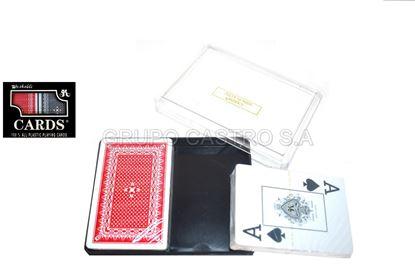 Foto de BARAJAS SET 2 ORIGINAL CARDS PLY-220/BAR-220 LETRAS GRANDES