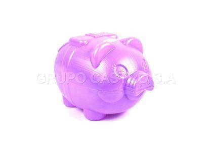 Foto de Alcancia chancho mediana saving piggy bank 3222 lazo 20x12cms