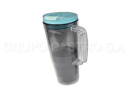 Foto de Jarra IGLOO 30onz / 887ml BPA  OS-IM412A-1 agarradera acrilica transparente