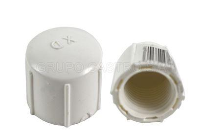 Foto de Tapon hembra 1/2  PVC rosca 12mm