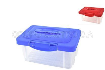 Foto de Practicaja pequeña 3 ltr c/t 08256 26x17xx13cms tacoplast plastico