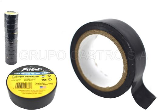 Foto de Tape negro xtreme10yardas 0.13mmx18mm XT-F014 (12)