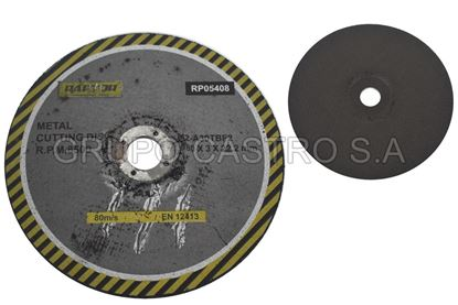 "Foto de Disco metal corte grueso7"" rp05408-180 raptor 180x3x22.2mm"