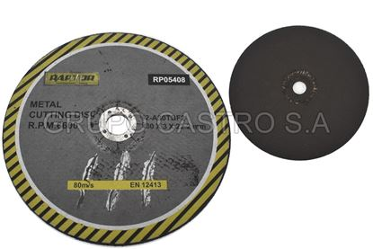 "Foto de Disco metal corte grueso 9""rp05408 raptor 230x3x22.2mm"