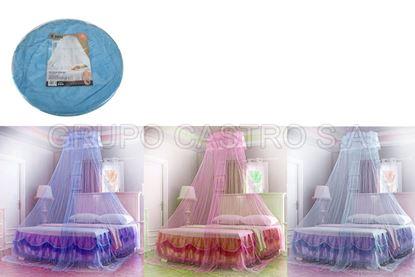 Foto de Toldo mosquitero matrimonial colores rueda queen size