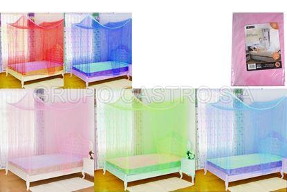 Foto de Toldo mosquitero individual colores cuadrado