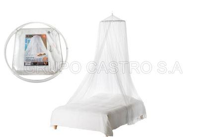 Foto de Toldo mosquitero individual blanco rueda full size
