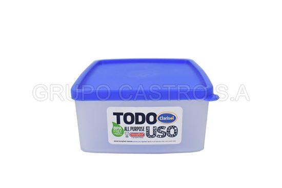 Foto de Sanwichera c/t arandano 13X11X6 cm 30668 tacoplast plastico
