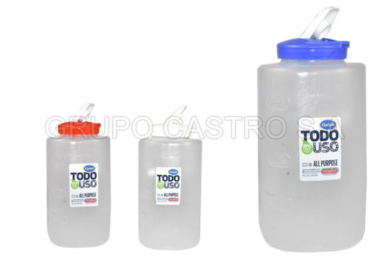 Foto de Juguero (Botella) 3ltr colores 03019 Tacoplast plastico