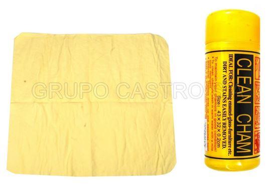 Foto de CHAMOIS CAMUZA SINTETICA PEQUEÑA AZ1797 43X32X0.2 cms