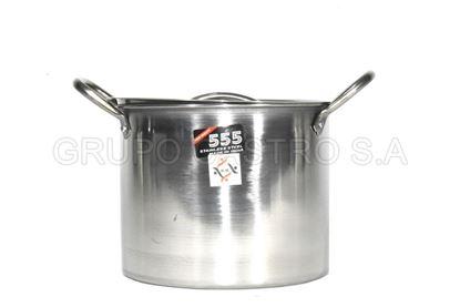 Foto de Tamalera acero 4LTS 555 20x15.5cms stock-pot