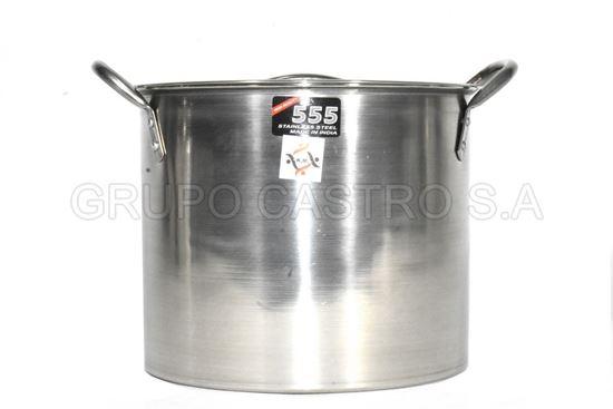 Foto de Tamalera acero 7LTS 555 23x18.5cms stock-pot