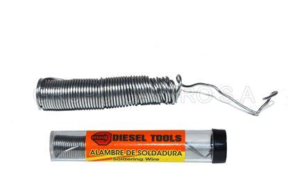 Foto de SOLDADURA ESTAÑO DT15-PDSN40 18 gms diesel tools CAUTIN