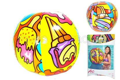 Foto de Inflable bola playera 31044 BESTWAY 91CMS