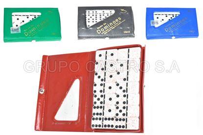 Foto de Domino 28pcs 10mm 5010P/PH5010CH 50mmX24mm blister