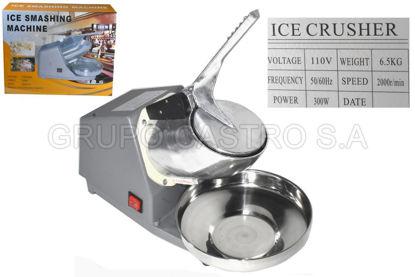 Foto de MAQUINA GRANIZADO ALUMINIO FUNDIDO ELECTRICA 97848 300W 110V ICE CRUSHER