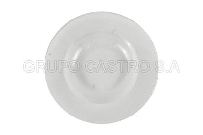 "Foto de Plato porcelana hondo 9"" Blanco H303-174"