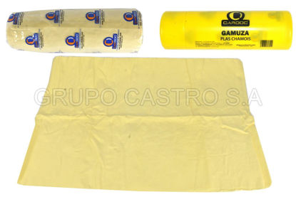 Foto de CAMUZA PLAS CHAMOIS K-GR-CD CARDOC GRANDE 66CM LARGO X 42CM ANCHO