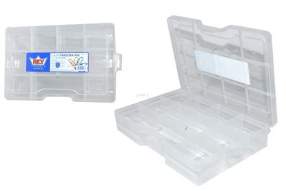 Foto de Caja pandora # 30 (11divis) Rey CJX032000 5.1AL X 17.6AN X 27.3L CMS 1.4LTS