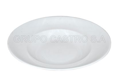 Foto de TAZON HONDO PORCELANA 27 CMS SOPERO BLANCO CDMC52-003B HOUSE +HOME