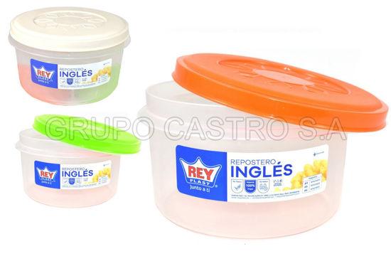 Foto de Repostero Inglés #4 3lts 20x12cms Rey RPX015500
