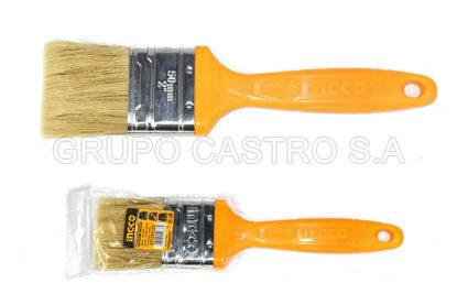 "Foto de Brocha p/pintar 2"" INGCO CHPTB68702 pelo amarillo 23cms"
