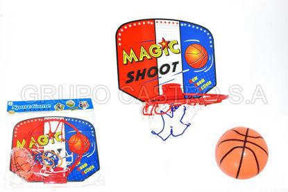 Foto de TABLERO BASKETBALL MAGIC 46-B68452 32x30.5x200cms