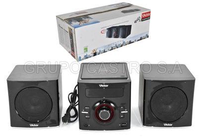 Foto de EQUIPO SONIDO VICTOR VTS901 200W DVD/USB/HDCD