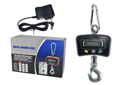 Foto de Balanza colgante digital 300 kgs DT18203 30X40cms digital hanging scale