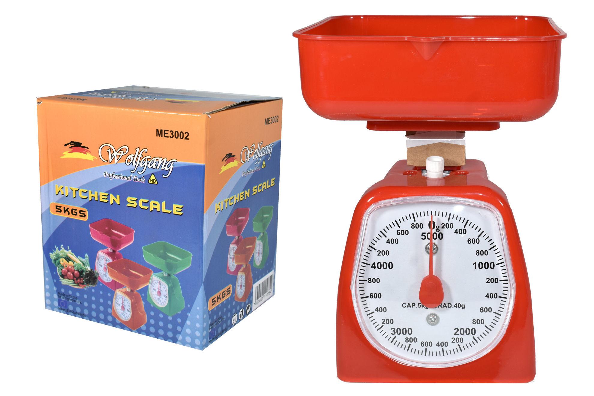Foto de Bascula 5kg mesa ME3002 WOLFGANG KITCHEN SCALE