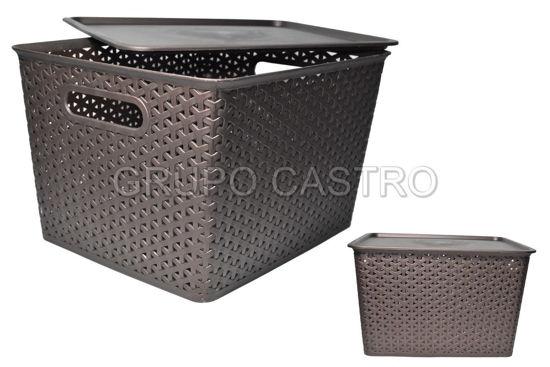 Foto de Caja Ratan 19 ltrs rectangular DY171/4123 35x29x22cms dinasty