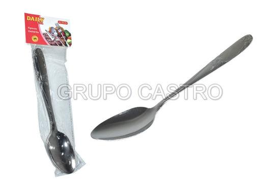 Foto de CUCHARA ACERO SET 6PCS H89-635-1 DAILY
