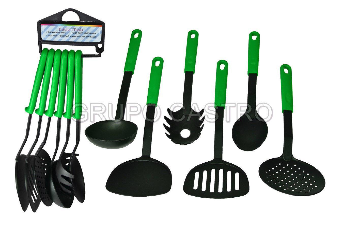 Foto de Set utencilios  cocina 6 pcs teflón 716-34918 bistro