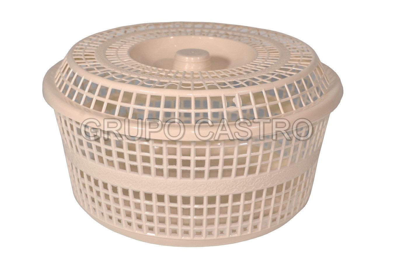 Foto de Recipiente Tortillera #2 1061 Megaplast c/tapa 3.8lt 24x14cms