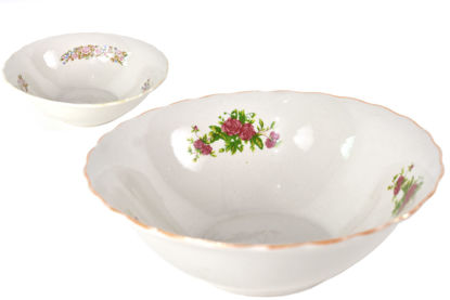 "Foto de Dulcera porcelana grande decorada 8"" 8SB-5169 lotus"
