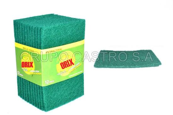 Foto de Set 12 esponjas verdes PH-MBG12 Orix